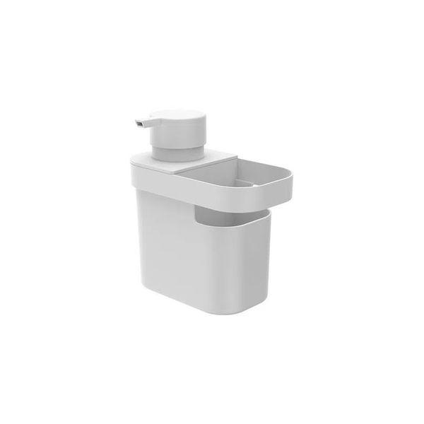 Dispenser detergente e organizador Trium 650ml branca